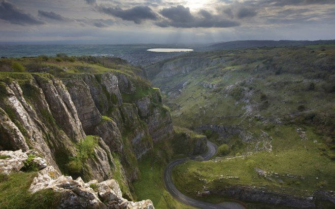 Cheddar Gorge Clifftop