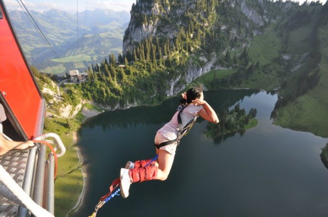 My First Bungee Jump