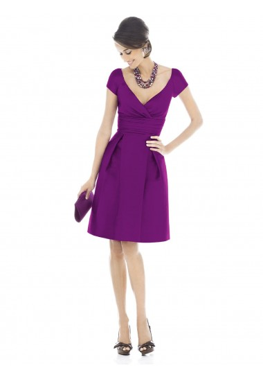 cuk018828-sheath-column-v-neck-ruffles-short-knee-length-satin-bridesmaid-dresses-cocktail-dresses-homecoming-dresses-13812-1