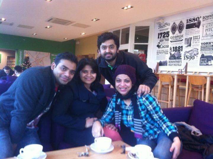 Coffee at YHA, York