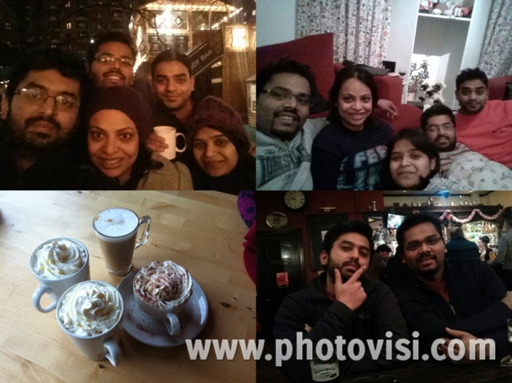 Toddy & Hot Chocolate were a must for Minus Temp :)