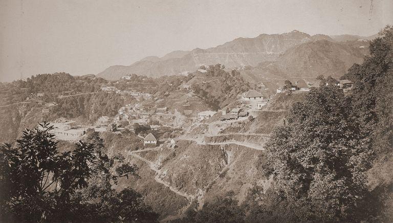 Mussoorie in 1860