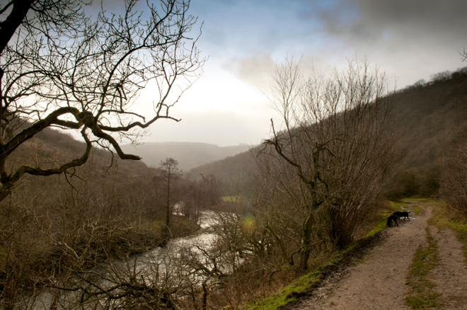 Heading Down the Wye Valley