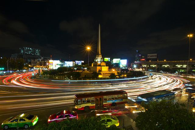 The colorful Bangkok